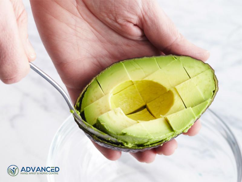 Sliced Avocados